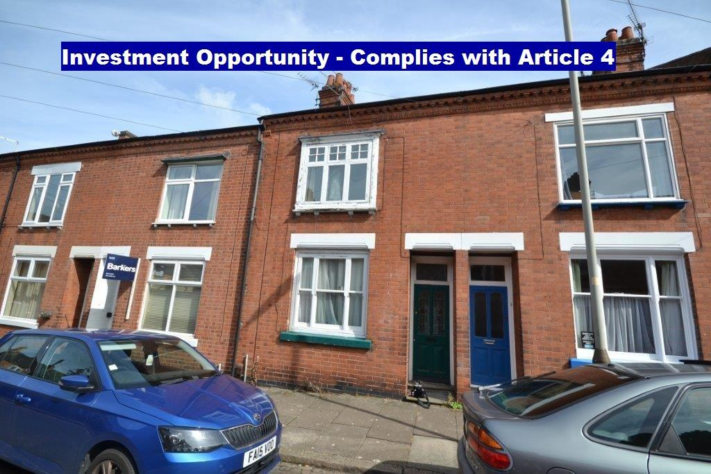 3 Bedrooms Terraced House for sale in Hartopp Road, Leicester